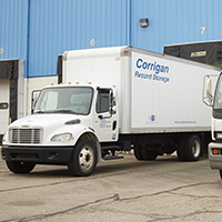 Corrigan records truck