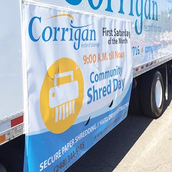 Corrigan Records Community Shred Day