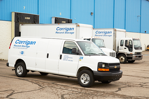 Corrigan records trucks