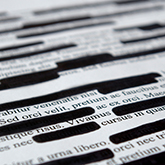 Document redaction