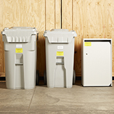 Different types of Shredding Containers
