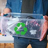 Environmentally friendly electronics recycling
