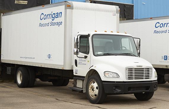 Corrigan records truck