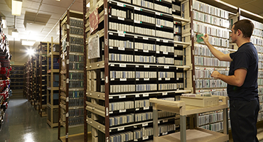 Vault storage at Corrigan for irreplaceable documents and media